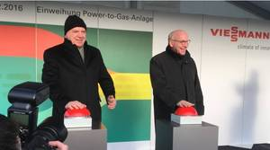 Запуск установки Power-to-Gas в Аллендорфе